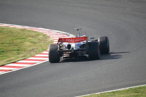 japan f1 mclaren formula1 suzuka 鈴鹿 mp421 minoltaaf5008reflex kmα7digital 2006formula1fujitelevisionjapanesegrandprix