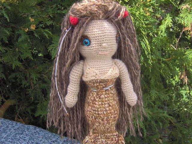 Amigurumi Mermaid Tail : Mermaid Crocheted Doll Amigurumi Flickr - Photo Sharing!