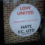 LOVE UNITED ~ HATE F.C. UTD