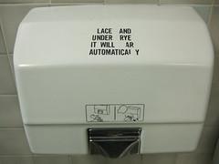 Witty Dryer (under rye?)