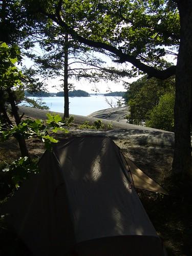 camping geotagged islands sweden tent campsite archipelago stockholmarchipelago finnham