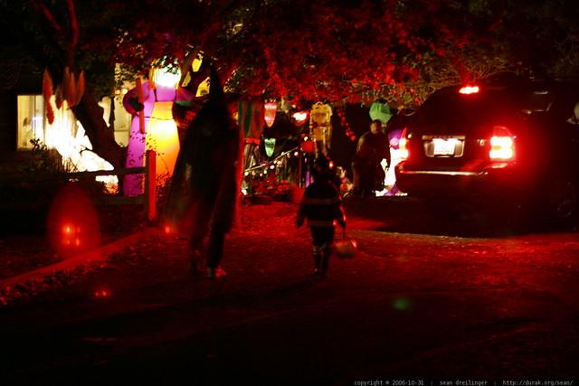haunted house in our neighborhood - _MG_3649