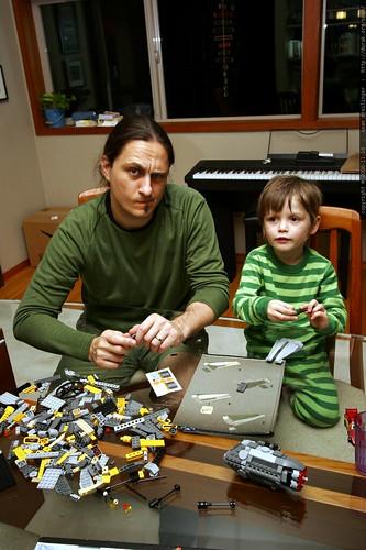 nick and sean, star wars lego engineers    MG 5557