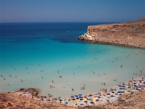 Lampedusa, la spiaggia più bella del mondo$