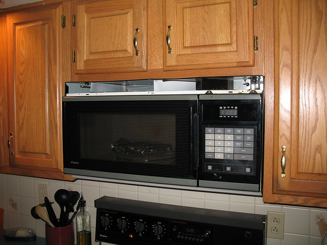 old microwave flickr photo sharing. Black Bedroom Furniture Sets. Home Design Ideas