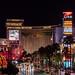 Trump Hotel towering over Las Vegas Strip