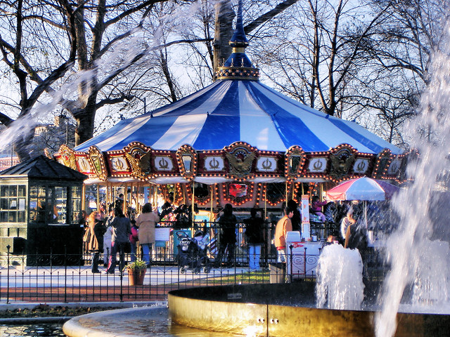 Franklin Square Park Carousel Flickr Photo Sharing