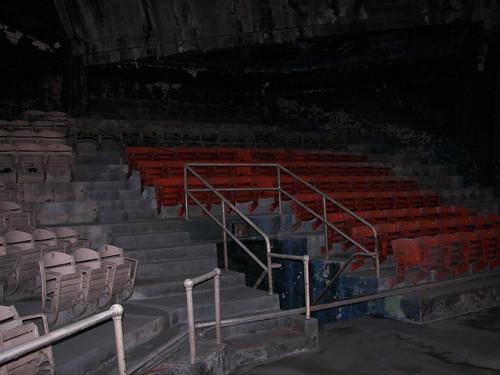 Extant seats, Uline Arena