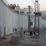 The apartheid wall, East Jerusalem
