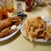 Crab and Catfish at Middendorf's by Fuzzy Gerdes