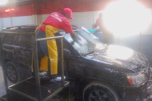 At The Carwash