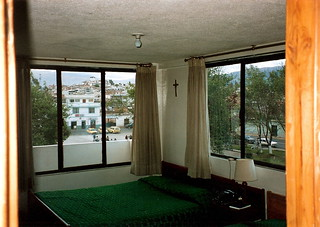 Riobamba hotel room