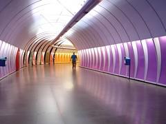 Metrô Rio de Janeiro Copacabana Subway Copacabana Estação Cardeal Arcoverde station Metrô metrorio tunnel túnel #Rio450 Parabéns Rio