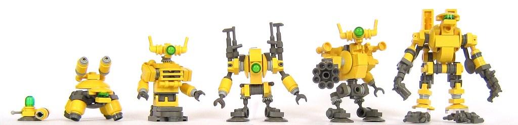 Как из лего сделать робота