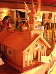 wood, dollhouse, log cabin, toy,