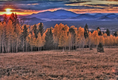 autumn sunset arizona sanfranciscopeaks snowbowl hdr photomatix singlejpg
