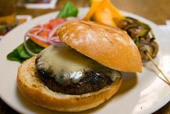 Buffalo Bill's Brewery Burger
