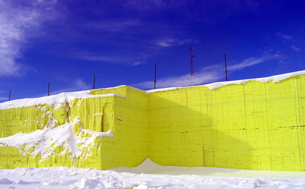 Sulphur Block at Shantz, Alberta 2003