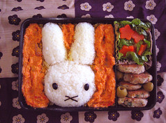 Thursday's Miffy Bento