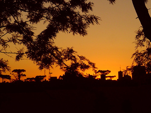 Sunset in Cascavel, Brazil