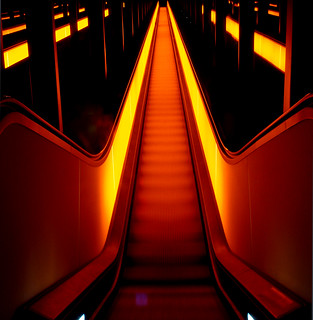 Escalator from hell or stairway to heaven?