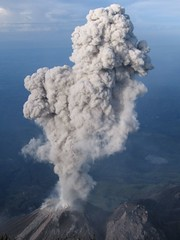 types of volcanic eruptions, cloud, volcano, lava dome, volcanic landform,