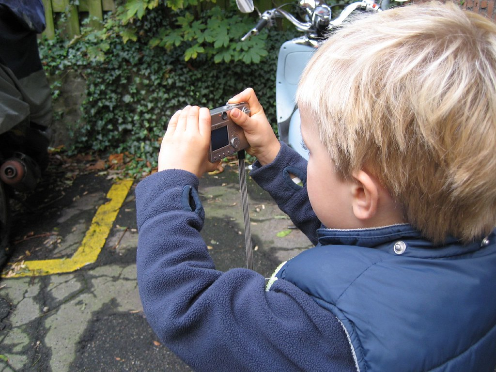 Four Year Old Photographer
