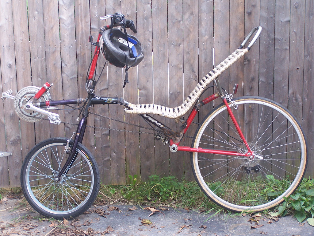 home built recumbent bicycle