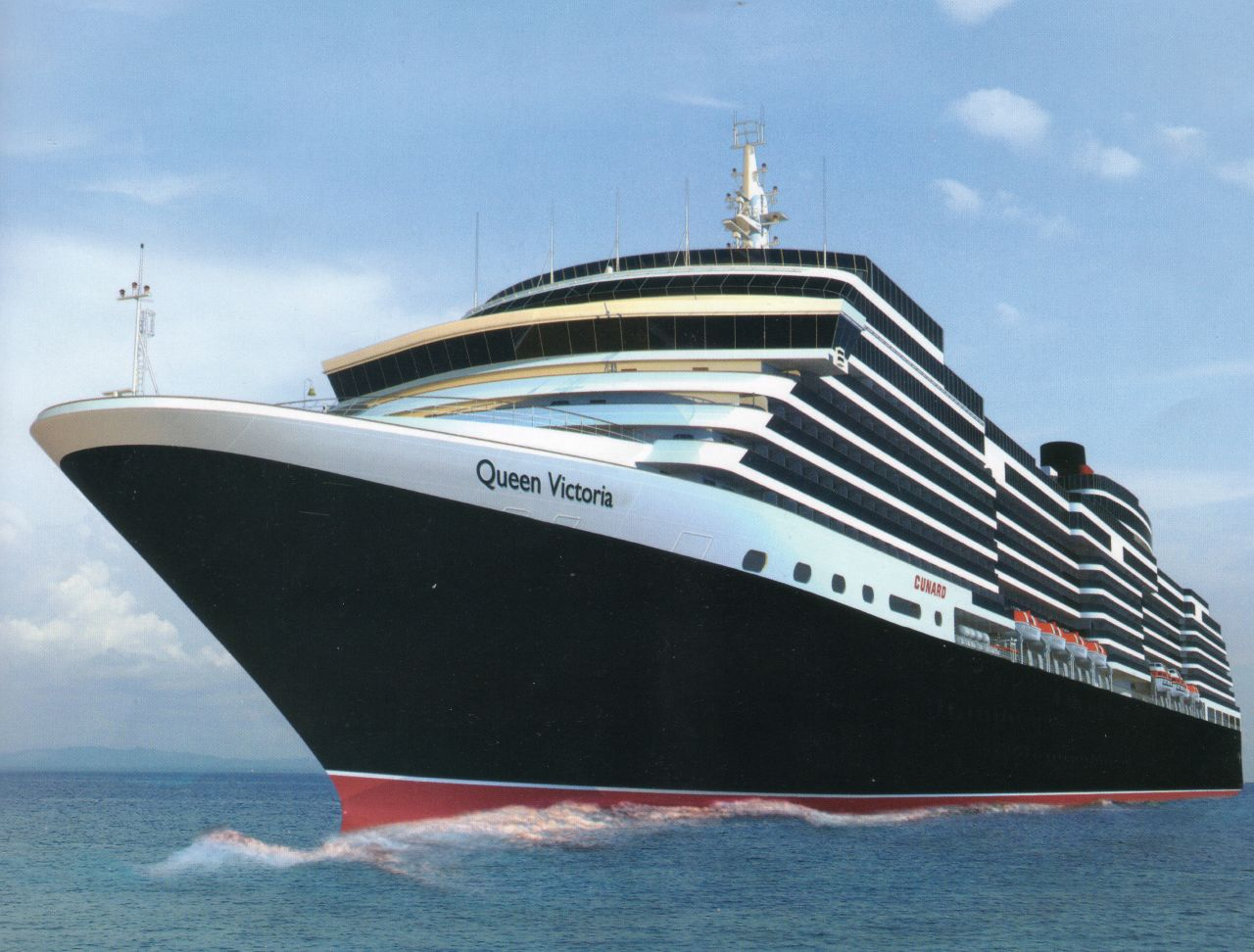 Queen Victoria Cunard39s Newest Cruise Ship  A Photo On