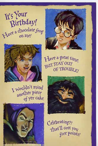the harry potter birthday card prattitude flickr