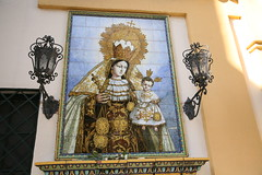 Azulejo at the Macarena Basilica