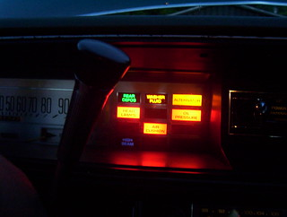 '75 Electra warning lights AIR CUSHION