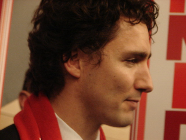 Header of Trudeau