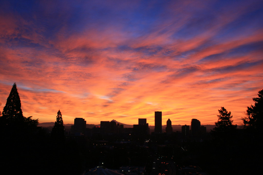 Amazing Portland Sunrise