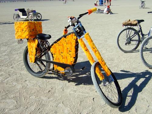 Fuzzy Artbike!
