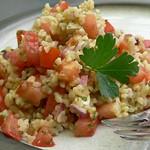 Bulgur-Tomaten-Salat