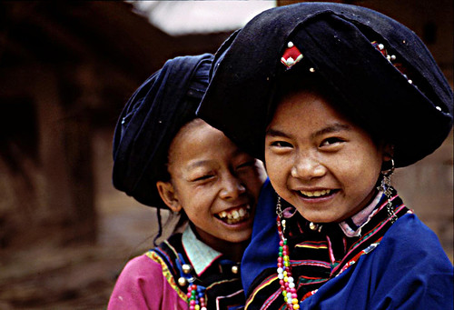 Laos - Lolo girls