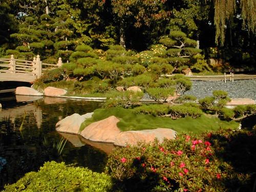 Gardens To Earl Burns Miller Japanese Garden