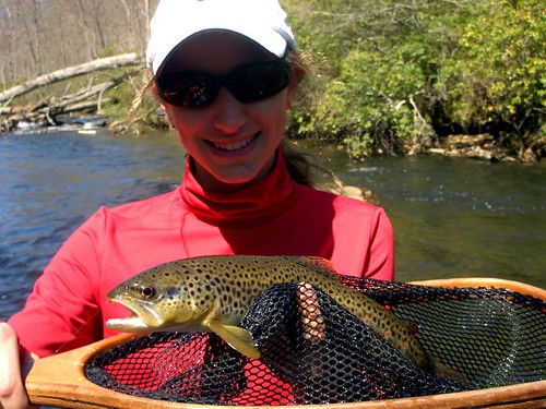 Summer fly fishing on the gunpowder river near baltimore for Trout fishing maryland