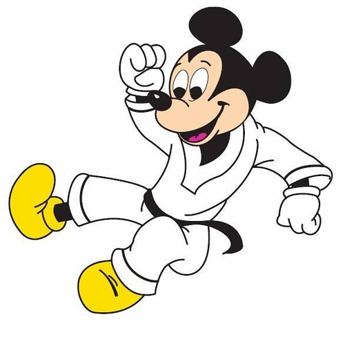 mickey mouse karate clipart - photo #2