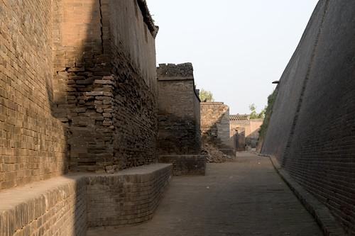 平遥城墙内马道