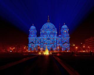 berliner dom @ festival of lights