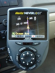 driving(0.0), odometer(0.0), automotive exterior(0.0), wheel(0.0), steering wheel(0.0), speedometer(0.0), automobile(1.0), vehicle(1.0), automotive navigation system(1.0), gps navigation device(1.0), electronics(1.0),