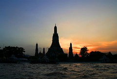 Wat Arun @ sunset