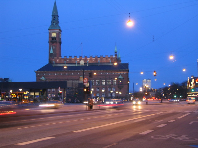 City Hall Facing South, Copenhagen