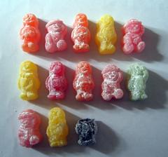 art, confectionery, gummi candy, food, cuisine,