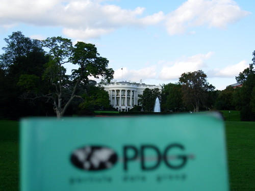 PDG at the White House