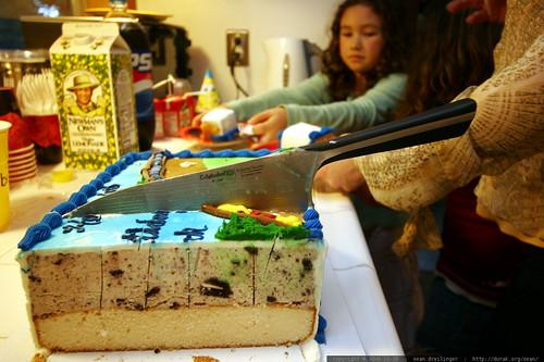 katana in cake    MG 3365
