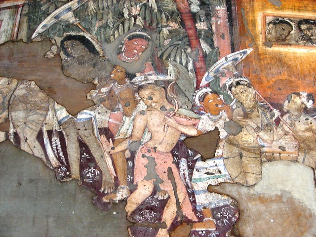 Ajanta cave paintings a gallery on flickr for Ajanta mural painting