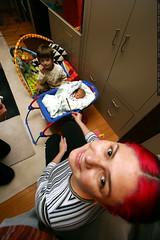 rachel blessing her navajo baby    MG 5163